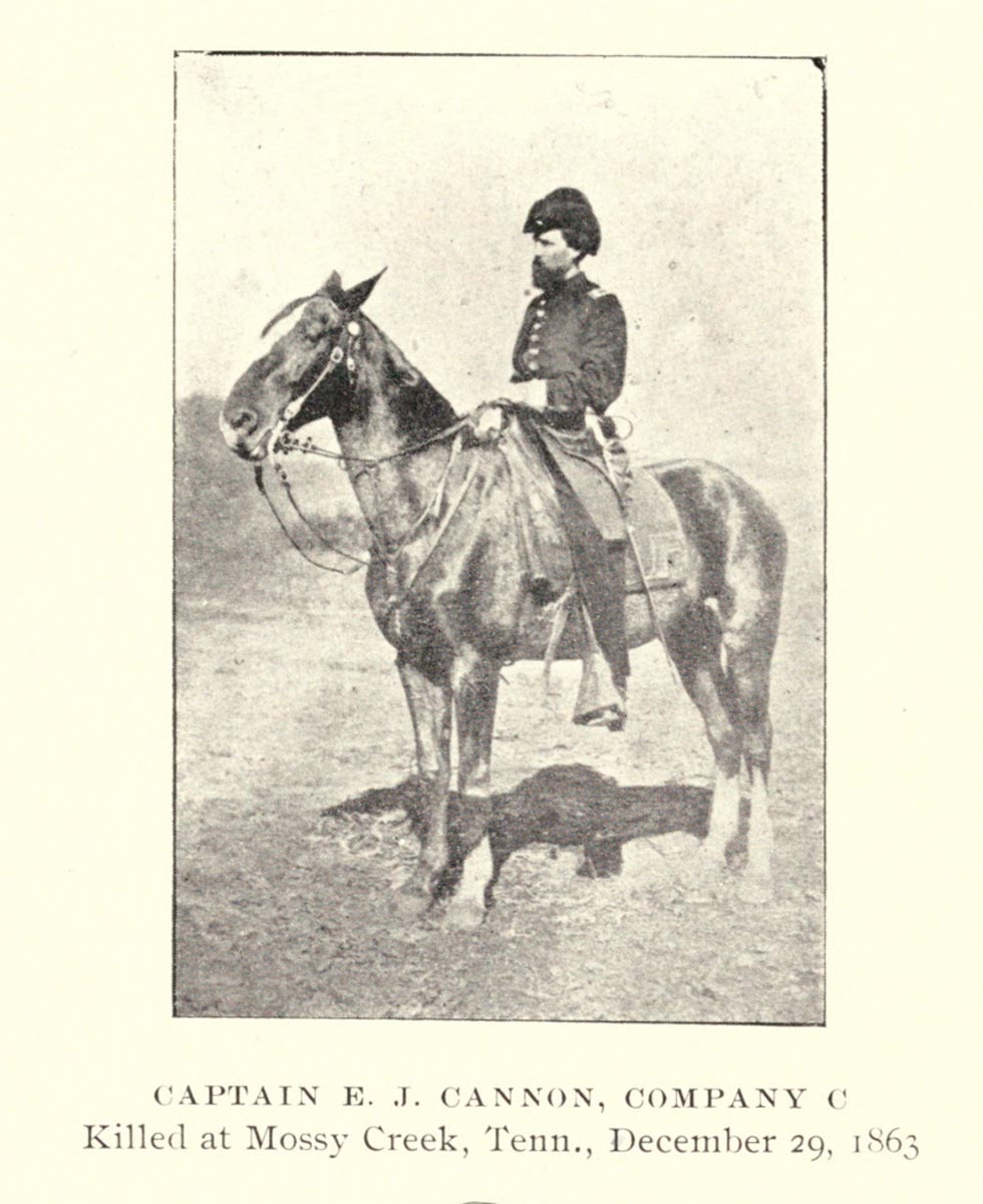 Captain E J Cannon - First Tennessee Calvary