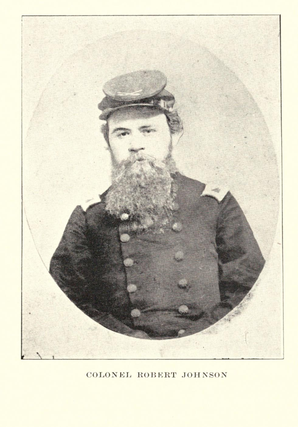 Colonel Robert Johnson - 1st Regiment East Tennessee Volunteer Calvary