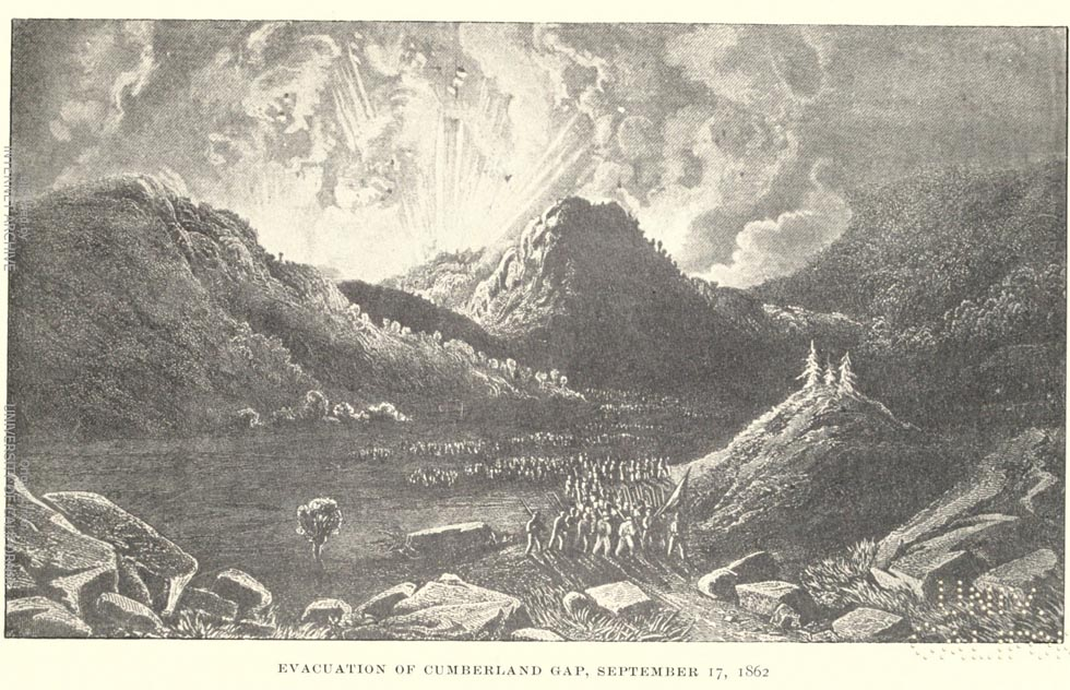 Evacuation of the Cumberland Gap 1862