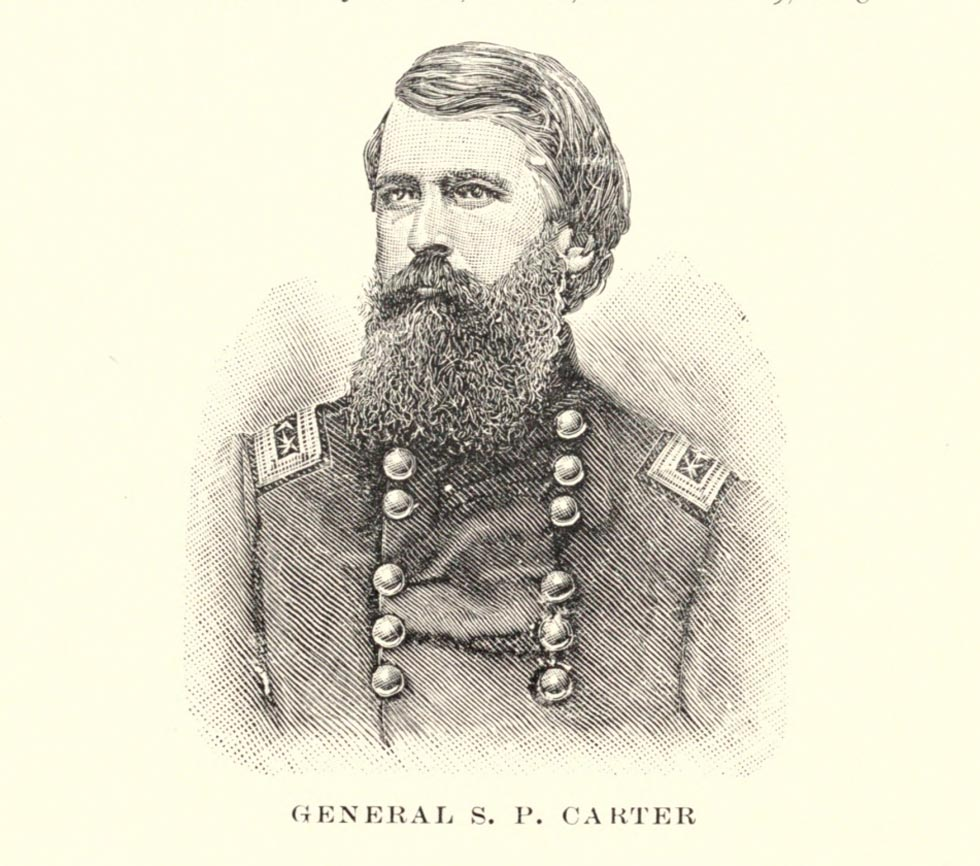 General S P Carter - First Tennessee Regiment Volunteers